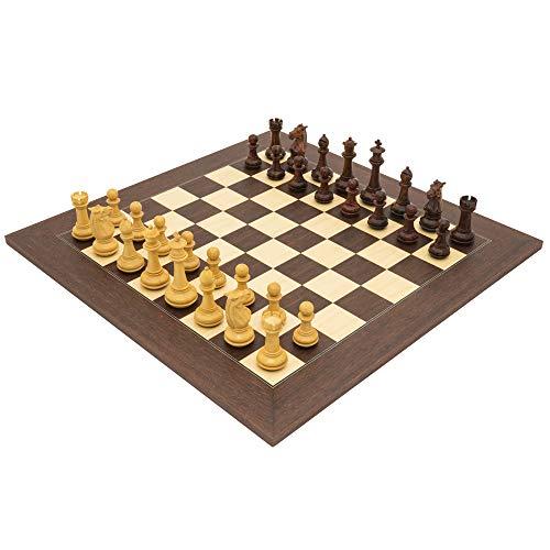 The Regency Chess Company Ltd The TEMPLARE palissandro lusso Set di scacchi