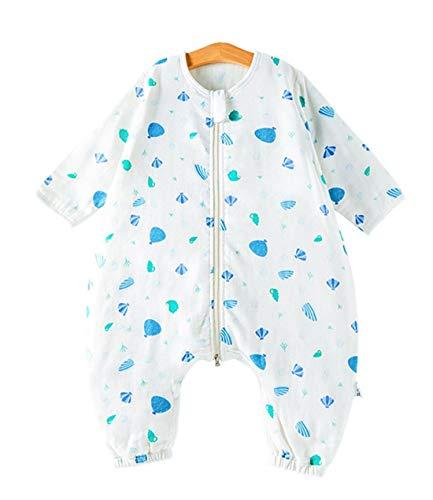Pasen Baby Schlsfack Unisex Kids Lente Zomer Slaapzak Pyjama Met Eenvoudige Stijl Benen 100% Katoen Romper Voor Jongen En Meisje Ananas 100 Lichaam Maat 110 120Cm