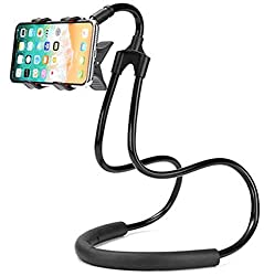 TROVON Neck Lazy Cell Phone Holder Multi Function Universal Mobile Phone Stand, Lazy Bracket, DIY Free Rotating Mounts for Indoor, Outdoor, Home, Kitchen,Office,Car, Bike
