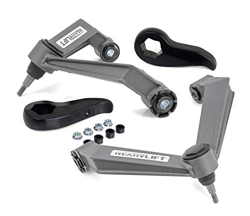 ReadyLift 66-3012 2.25'' Front Leveling Kit (Forged Torsion Key) with Fabricated Upper Control Arms