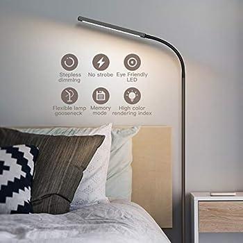 dodocool Adjustable 2-In-1 Multifunctional LED Floor & Desk Lamp