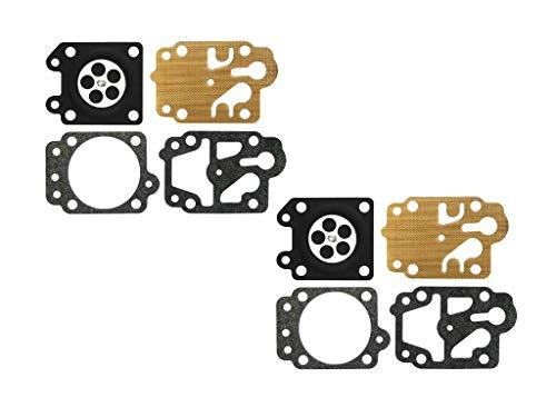 C·T·S Kit de Junta de carburador y diafragma para desbrozadora China TU26 CG330/430/520 carburador Walbro WYJ (Paquete de 2)