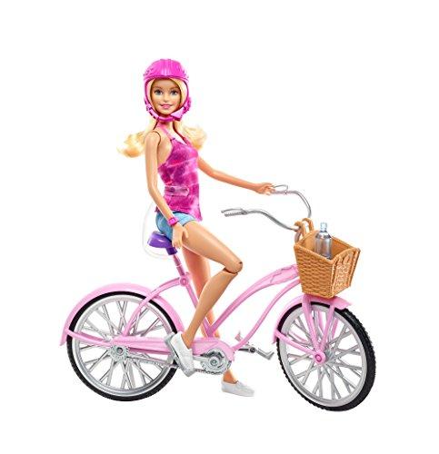 Barbie Mattel DJR54 - Glam Fahrrad und Puppe