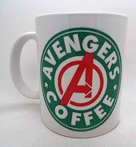 Avengers Starbucks Parodie 313 ml Tasse mit lustigem Anime-Design