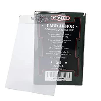 For2fied Card Armor - Semi Rigid Grading Sleeves 50ct