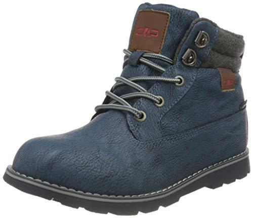 CMP Kids THUBAN Lifestyle Shoes WP Walking Shoe, Blue Ink, 28 EU
