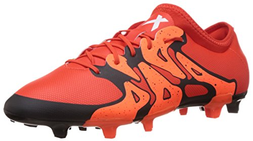 adidas Performance Herren X15.2 FG/AG Fußballschuhe, Rot (Bold Orange/Ftwr White/Solar Orange), 46 EU
