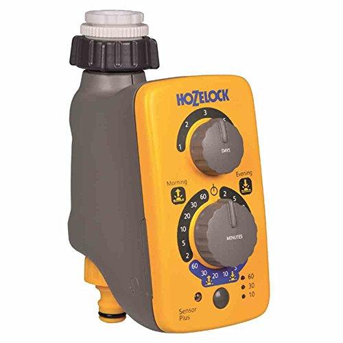 Hozelock - Programador de riego Sensor Controller Plus, de fácil programación mediante sensor de luz