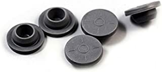 20mm Gray Elastomer Rubber Stoppers Chlorobutyl Rubber Stoppers for Vials And Serum Bottles (100Pc)
