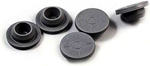 20mm Gray Elastomer Rubber Stoppers Chlorobutyl Rubber Stoppers for Vials And Serum Bottles 200Pc Grey unknown