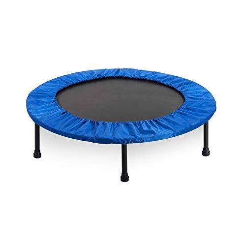 Belleashy Trampolín de fitness para interior plegable y silenciado redondo para niños, herramienta de entretenimiento para adultos, entrenamiento de estabilidad, 150 kg de carga para interior y jardín