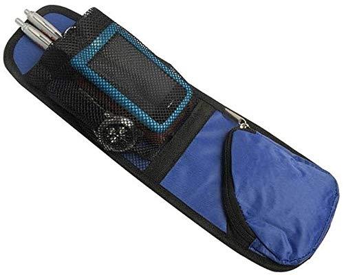 WSWJ Wasserdicht Auto Auto Sitz Seitentasche hängende Speicher-Beutel Sundries Halter Platzsparend Auto-Organisator for Aufräumen nach Hause Lagerung 97 (Color : Blue)