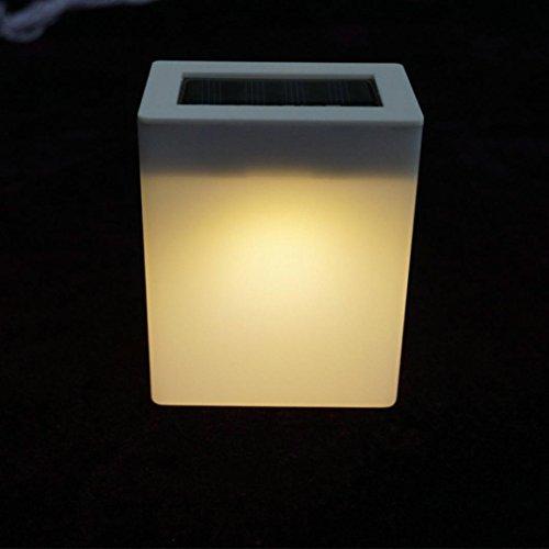 gaddrt Lamp Outdoor Solar Wandleuchte Garten Lichter Zaun Lampe Camping Lampe Bar Tischlampe (B)