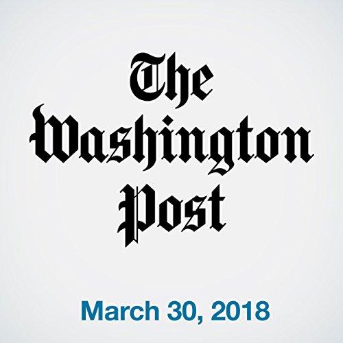 March 30, 2018 copertina