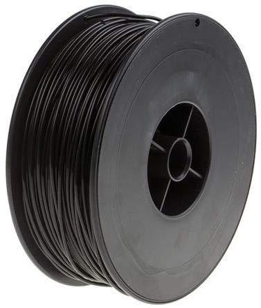 RS PRO 2.85mm Black PLA 3D Printer Filament, 2.3kg