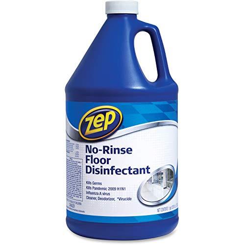 Zep, ZPEZUNRS128, No Rinse Floor Disinfectant, 1 Each, Blue
