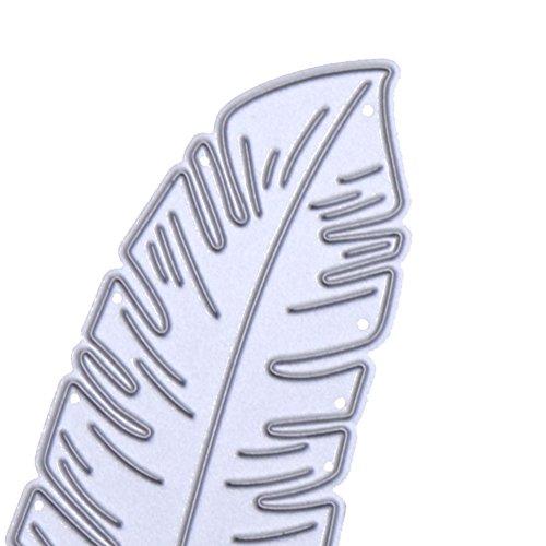 DIPOLA Helecho Hoja Plantilla Tropical Pintura Paredes Muebles,Telas Crear a la Medida Pintado Acabados Decoración Casa & Proyectos de Manualidades Reutilizable Mylar
