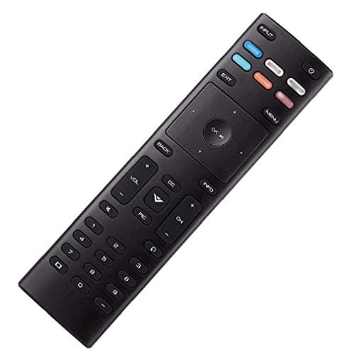 Rrunzfon Control Remoto Universal de reemplazo de Control Remoto XRT136 de Control con configuraciones Sencillas compatibles con VIZIO Smart TV Estabilidad de la señal