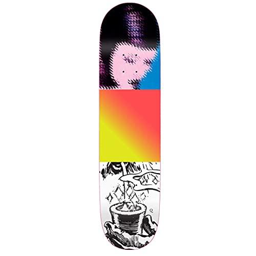 Quasi Skateboards Magiq ONE - Tavola da skate multi 21,5 cm