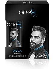 One 8 by Virat Kohli Aqua Gift Set, Blue (Edp, Deo Bs)