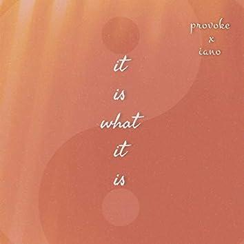 It Is What It Is (Provoke X Iano)