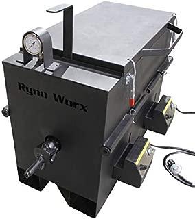 RY30MK Pro 30 Gallon Crack Sealant Melter Kettle for Bricks of Rubberized Crack Filler - Professional Grade, Highest Quality, Safest Machine