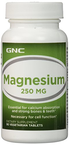 GNC Magnesium 250 MG 90 tablets
