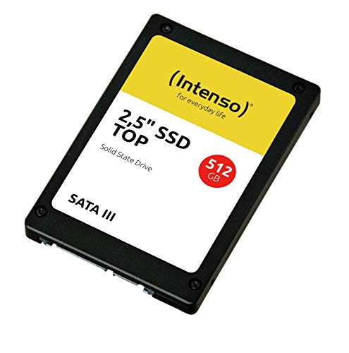 Intenso interne SSD-Festplatte 512GB Top Performance, Schwarz