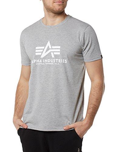 Alpha Industries ALPHA INDUSTRIES Herren Basic T-Shirt, Oliv, XXL