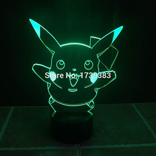 Brillante de Dibujos Animados Bob Esponja Patrick Star Acrílico Luz de Noche Lámpara de Mesa de plástico