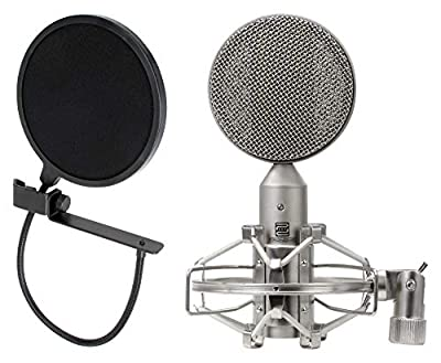 Pronomic RM-1 Ribbon Microphone SET incl. Pop Filter