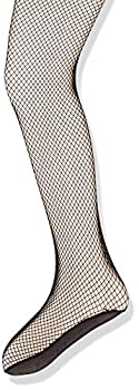 Capezio Girls  Little Professional Fishnet Seamless Tight Black Small/Medium