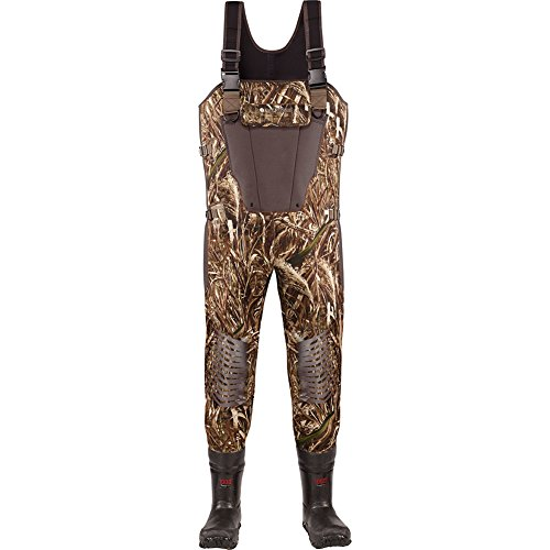 LaCrosse Men's 700316 Mallard II Expandable 1000G Insulated Wader, Realtree Max-5-7