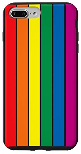 iPhone 7 Plus/8 Plus LGBT Pride Gay Bisexual Lesbian Transgender Pansexual Gift Case