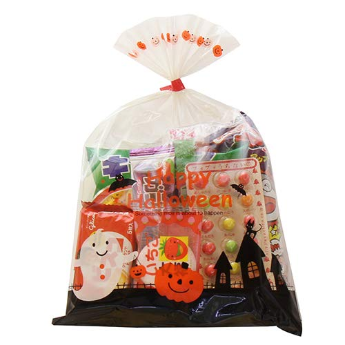 ハロウィン袋 250円 お菓子 詰め合わせ (Bセット) 袋詰め (omtma0433)