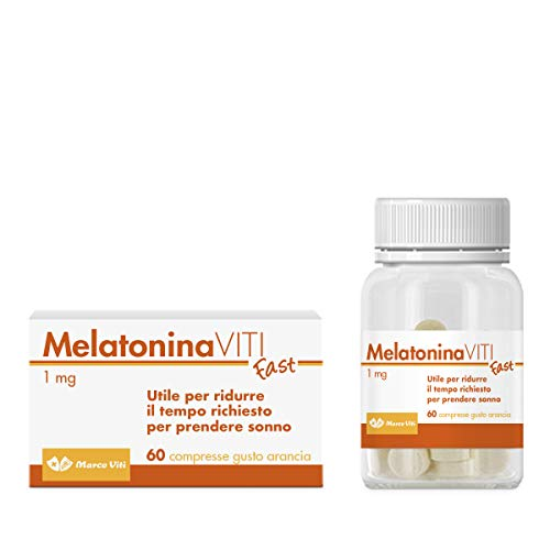 Marco Viti Integratore Alimentare di Melatonina, 60 compresse 150gr (Melatonina 1 mg/compressa