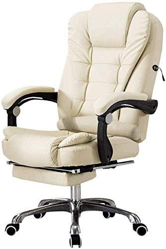 VIVOCC Silla de oficina ejecutiva, sillas de escritorio, muebles y sillas de ordenador para el hogar, moderno y perezoso, silla de jefe reclinable, silla de oficina, sillas de escritorio