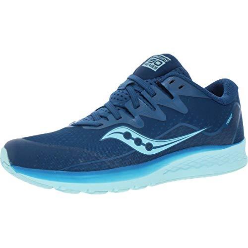 Saucony Girls S-Ride ISO 2 Gym Athletic Shoes Blue 7 Medium (B,M) Big Kid