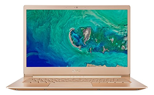 Acer Swift 5 SF514-52T 14-inch FHD Ultra Thin and Light Laptop (8th Gen Intel Core i7-8550U/8GB/512GB/Windows 10 Home/Integrated Graphics), Honey Gold