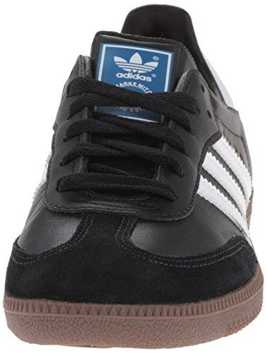 adidas Samba, Zapatillas Hombre, negro/blanco, 43.5 EU