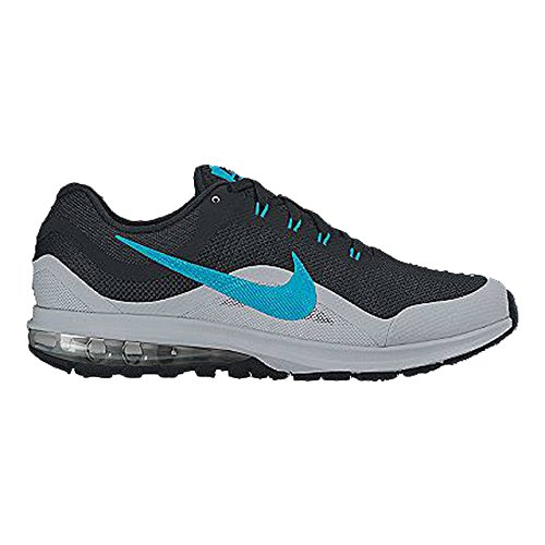 Nike 852430-004, Scarpe da Trail Running Uomo, Nero/Blu/Grigio Lupo (Blue Lagoon, Wolf Grey), 46 EU