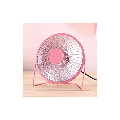 Calentador eléctrico, calentador de ventilador Mini calentador de casa Infrarrojo 220V 220W Calentador de aire eléctrico portátil para ventilador de calor para invierno Baño del hogar UE / EE. UU. / U