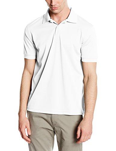 Stedman Apparel Active Piqué Polo/ST8050 Chemise Casual, Blanc (White), L Homme