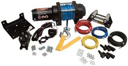 Tusk 3500 lb Heavy Duty Winch Kit with Mount Plate and Bump Stop - YAMAHA GRIZZLY 700 KODIAK 700 2016-2019
