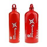 perfeclan 1500ml / 750ml Gasolina Fuel Bottle Gasolina Alcohol Liquid Gas Camping Tank