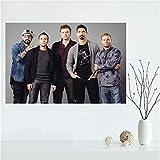 QIANLIYAN Backstreet Boys Leinwand Malerei Poster Leinwand