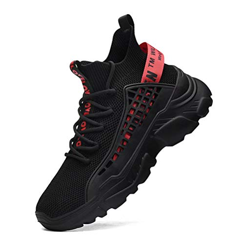 FUSHITON Chaussure Homme Sneakers Baskets Montante Mode...