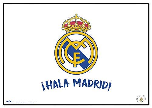 Erik - Submanos Real Madrid ¡Hala Madrid! - 34 x 49 cm.