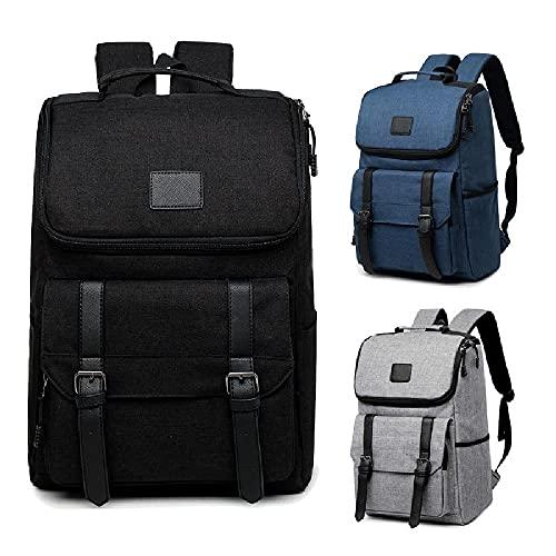 Mochila para computadora portátil, bolsa de trabajo Bolsa para computadora portátil liviana Mochila de negocios antirrobo, mochila escolar resistente al agua, regalos para hombres y mujeres,Black