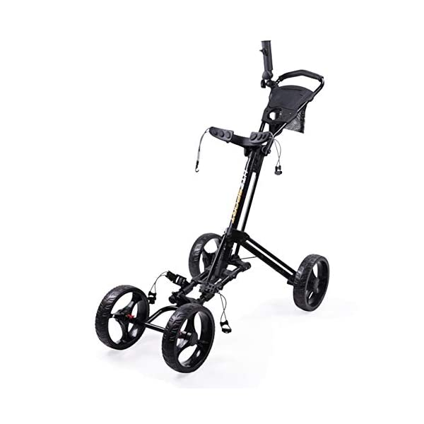 CBPE-Chariot-De-Golf-Pliant-One-Click-Chariot-De-Golf-Golf-Push-Trolley-Golf-Trolley–Pousser-Chariot-De-Golf-4-Roues-Chariot–Tirer-Lger-Et-Compact-Facile–OuvrirNoir
